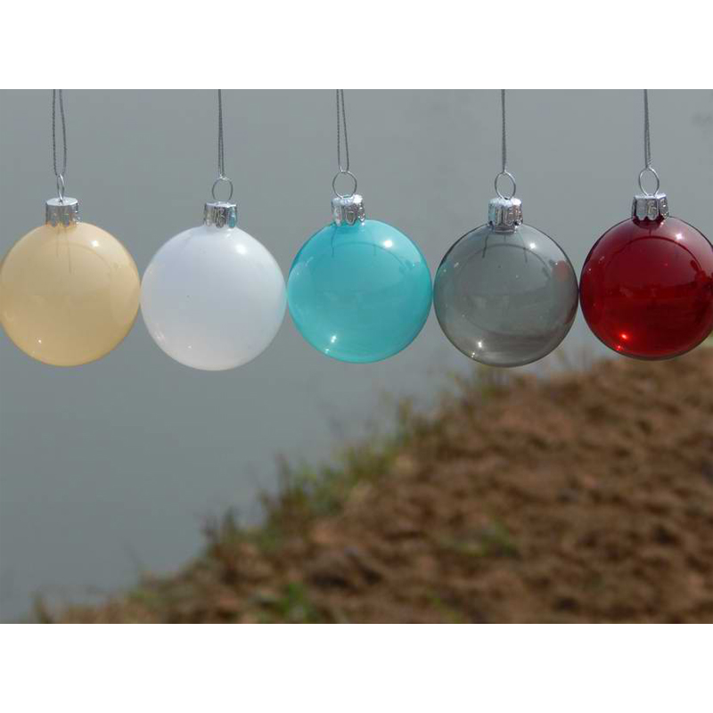 6pcslot christmas glass ball clear baubles ornaments decorations christmas tree wedding decoration ball party in ball ornaments from home garden on - Glass Christmas Tree Decorations