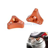 For KTM SXS Knob Adjuster Set 125 250 350 450 690 SX SX F EXC XC