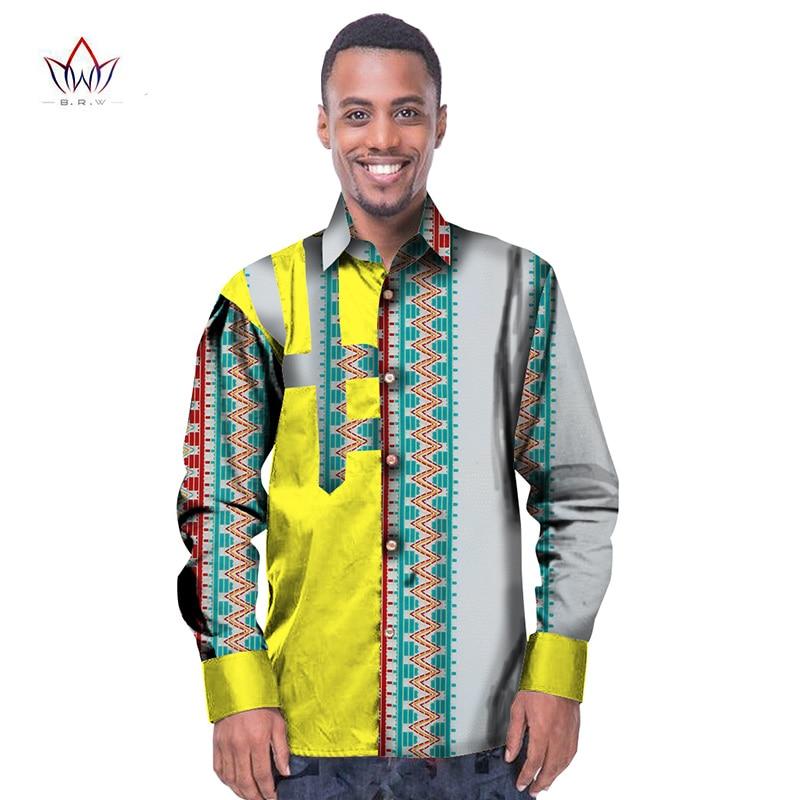 c742f5b22 Trending men african fashion dashiki design print shirt mandarin collar  personal customized african dashiki men clothes WYN229-in Casual Shirts  from Men's ...