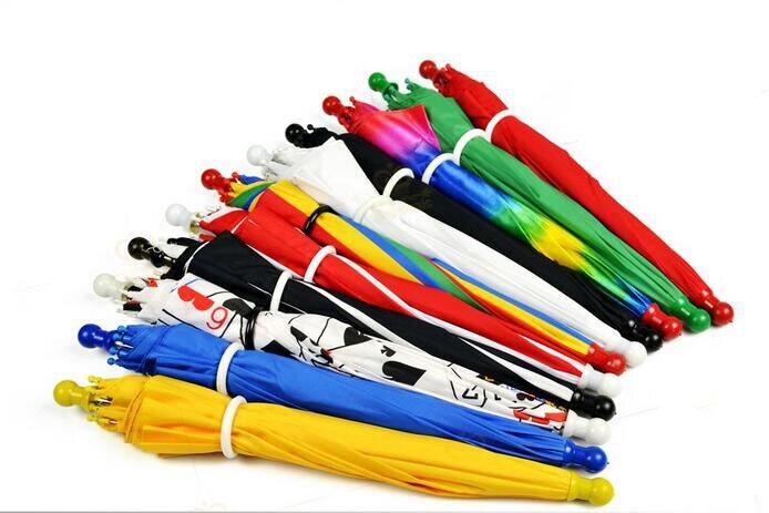 10 pcs/lot parapluie magique (longueur 33 cm) Parasol tours de magie drôle scène magique accessoires accessoires magie spectacles pour magicien