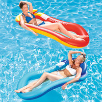 150*75cm Folding lounge chair floating Inflatable Water Swimming Toy for Adult Pool Rafts sofa Swimming Inflatable tools