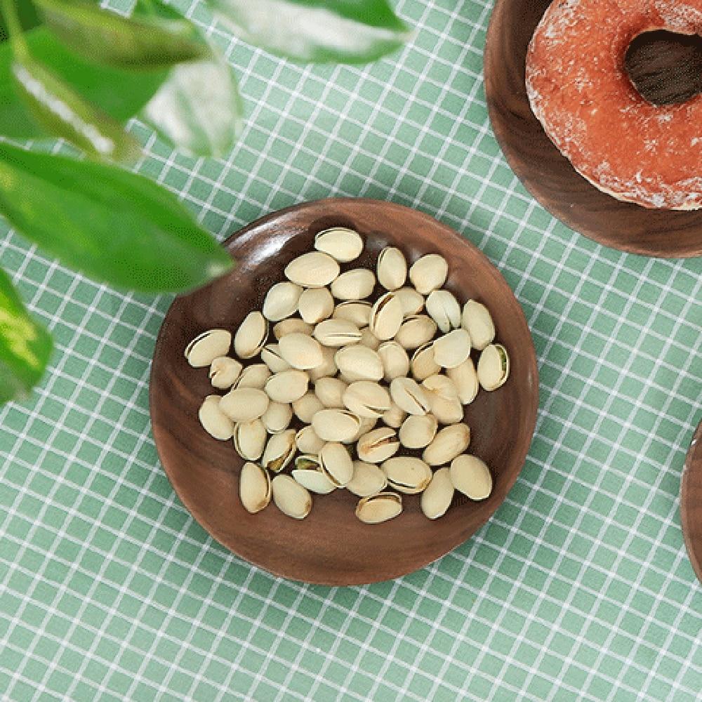 1 Stks Ronde Houten Plaat Natuurlijke Hout Dienblad Thee Voedsel Huishouden Keuken Server Gerechten Platter Speciale Zomerverkoop