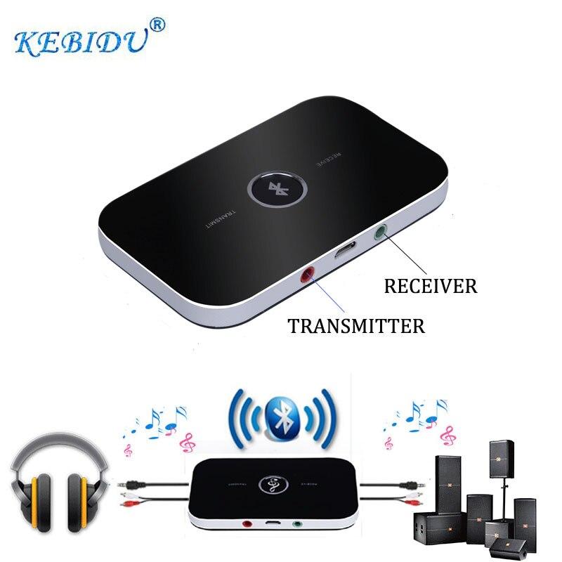 kebidu 2018 bluetooth transmitter receiver audio. Black Bedroom Furniture Sets. Home Design Ideas