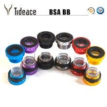 Bicycle Press Fit BSA Bottom Bracket MTB Road Cycling Plastic&Aluminum alloy Bolt 68mm Crank Axis цена