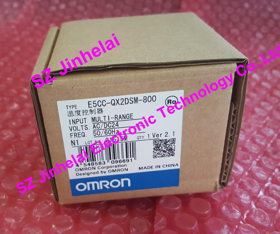 E5CC-QX2DSM-800 OMRON Authentic original Digital temperature controller AC/DC24 omron original authentic 100% new e5cc rx2asm 880 electronic temperature controller digital display temperature controller