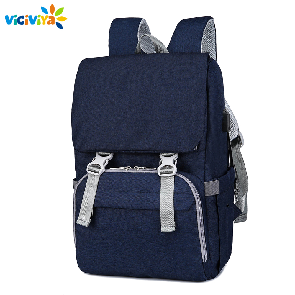 Big Size Diaper Bags Mummy Maternity Nappy Changing Bag Large Capacity Baby Travel Backpack Multifunction Nursing