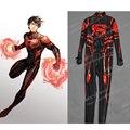 Superboy Superboy Linglong Alta Calidad de Encargo Cosplay Cosplay Traje Héroe Traje de Cuerpo