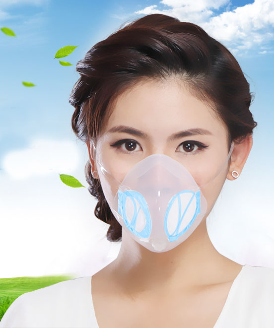 Dust Pm2.5 Respirator Masks With Breathing Valve Anti-haze Dustproof New Design Nose Mask Anti Pollution Outdoor Girl Female free shipping 5pcs dust masks protection face prevent mist haze pm2 5 mouth masks with exhalation valve