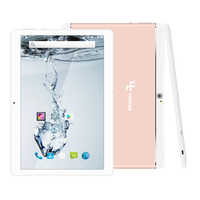 Yuntab K17 Tablet PC Quad-Core Android 5.1 touch screen1280 * 800 entsperrt smartphone Gebaut in 2 Sim-kartensteckplätze (rose gold legierung)