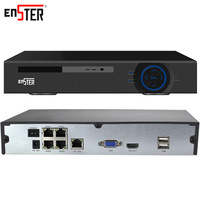 Enster 48V 4CH 8CH 1080P POE NVR DVR CCTV System Kit XMEYE P2p Network Video Recorder