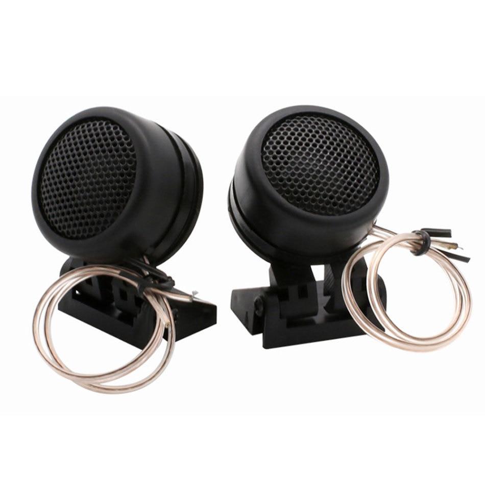 1 Paar 40 W Hohe Effizienz Auto Mini Dome Hochtöner Geändert Horn Audio Hochtöner Kopf Kleine Lautsprecher Tp-366 Für Alle Auto Audio System Dauerhafte Modellierung