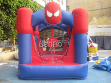U030 Inflatable spider-man bouncy house/ jumping house/Spiderman bounce house inflatable bouncer moonwalk jumping jumper