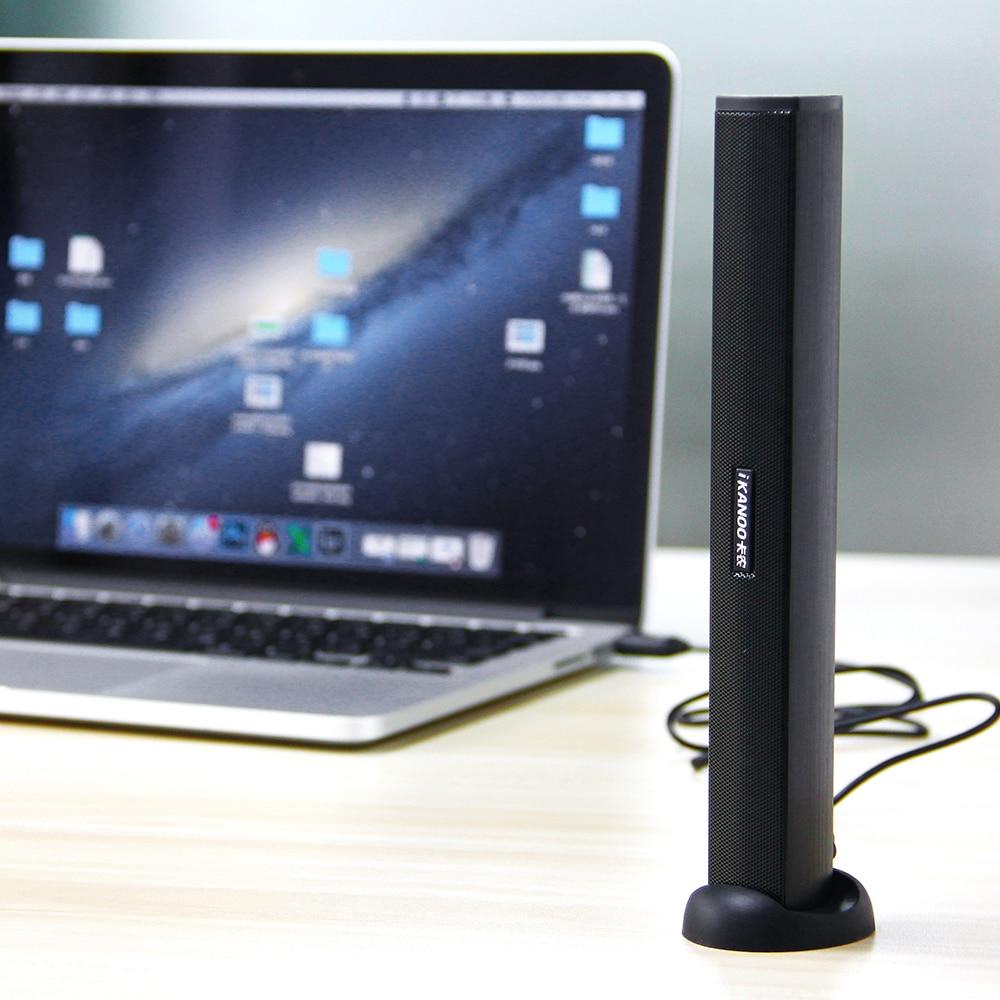 Vapeonly USB Mini Speaker Portable Multimedia 2.0 Laptop Speakers w/ Clip & Base Wired Speaker For Computer Stereo Music Player
