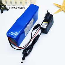 HK LiitoKala 12V 12Ah 18650 12V Battery 12000 mAh 10C Batteries Rechargeable Batteries For Digital Emergency Power LED Light Emi
