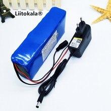 هونج كونج LiitoKala 12 فولت 12Ah 18650 12 فولت بطارية 12000 مللي أمبير 10C بطاريات قابلة للشحن بطاريات ل الرقمية الطوارئ الطاقة LED ضوء Emi