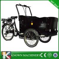 Максимальная скорость 25 км/ч 250 Вт бесщеточный мотор колеса грузовой велосипед улице продовольственная корзина велосипед для бесплатной до