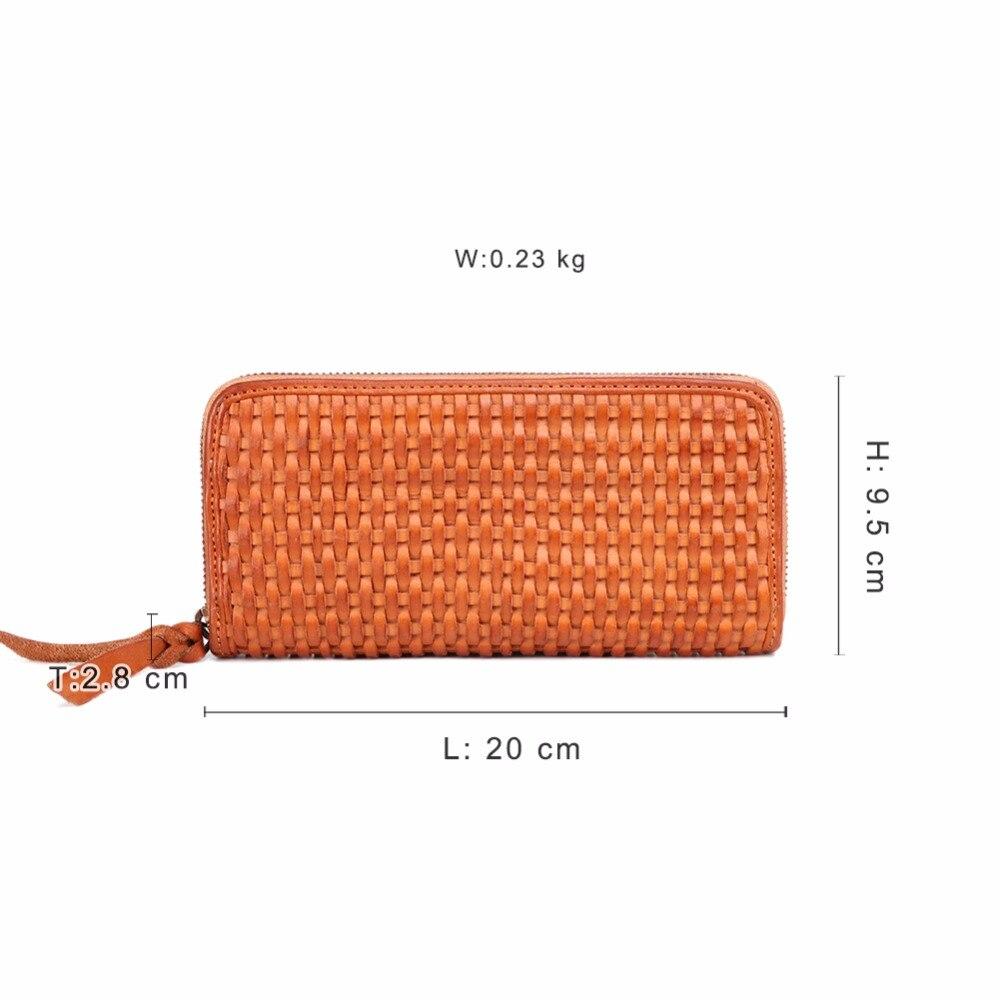 Zipper Handliche Taschen Echtem Frauen Geldbörsen Kupplung Männlichen Leder Brieftasche Luxus Tasche Lange Aus Handy J9358 Handgemachte S4O6wnPxq