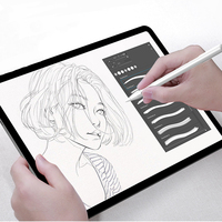 2pcs Paper Like Screen Protector for iPad Pro 12.9 2018 Anti Glare Paper Texture Sketch Film for New iPad 10.2 inch