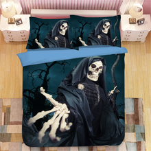 grim Reaper 3D bedding set  Duvet Covers Pillowcases anime reaper Grim comforter sets bedclothes bed linen