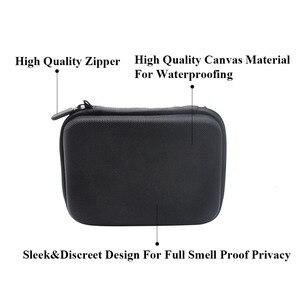 Image 4 - HORNET Tobacco Bag Set Plastic Herb Grinder Storage Jar Metal Tin Silicone Smoking Pipe One Hitter Rolling Machine Glass Tips