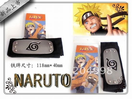 Free shipping Anime Naruto Headband From Leaf Village Cosplay