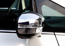 New  	ABS Chrome Side Door Mirror Cover Trim for Honda Odyssey 2014 2015 2016