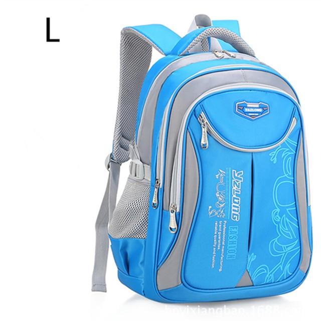 532121b428 Kids orthopedic backpack Primary School Bags For Students Boys Girls  Backpacks Waterproof Schoolbags Book Bag mochila infantil