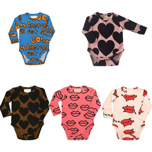 Baby Bodysuit 2018 Bobo Choses HUGO New Toddler Infant Long Sleeve clothes cotton girls bodysuits Newborn Fortnite baby clothes