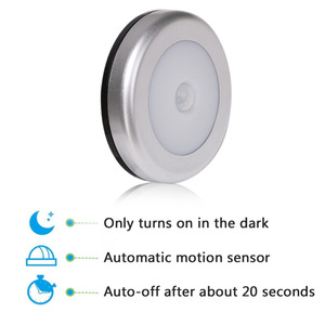 Image 3 - Coquimbo Cordless Battery Powered Wardrobe LED Night Light Magnet PIR Motion & Light Sensor Light Stick anywhere Stair Lights