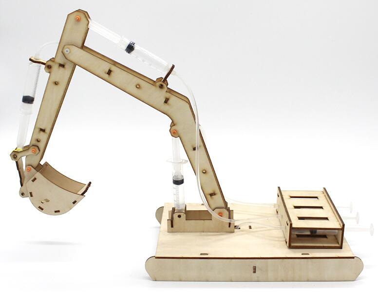 science experiments toys Handmade Wooden Excavator Model for DIY Toy Model Accessories Creative inventionsscience experiments toys Handmade Wooden Excavator Model for DIY Toy Model Accessories Creative inventions