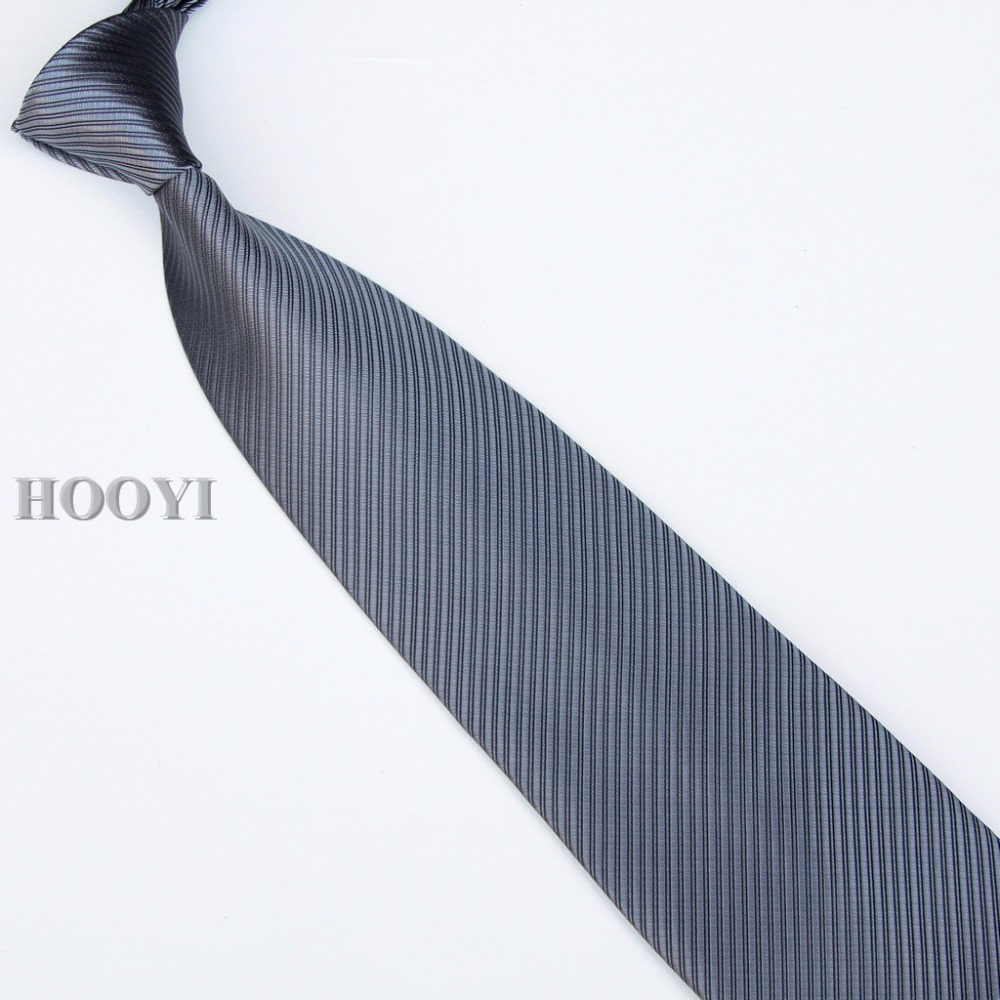 HOOYI 2018 solid color mens business neck ties