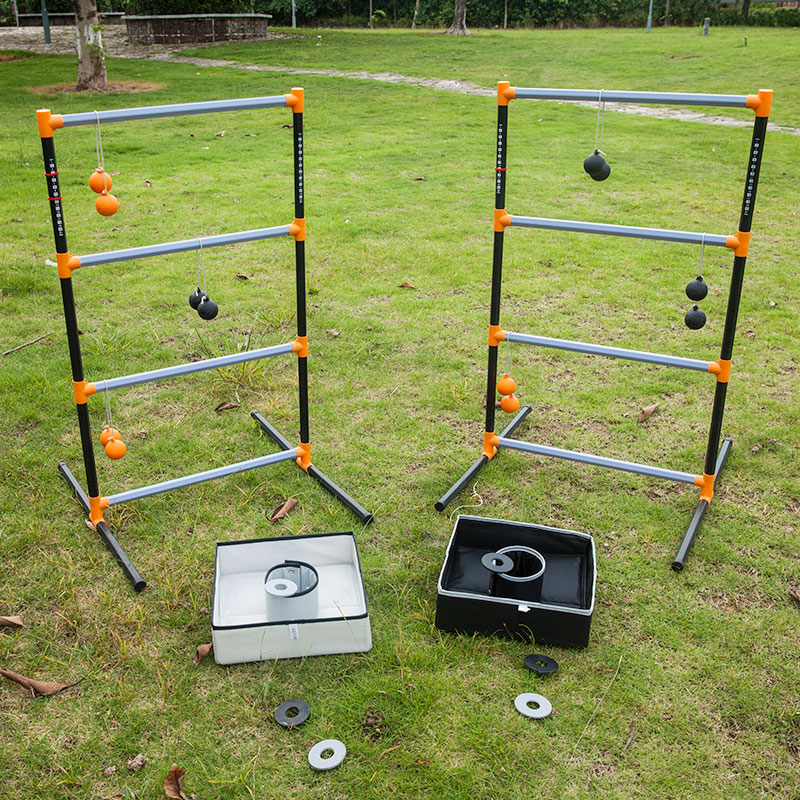 3 In 1 lawn game set- Ladder Toss Game , bean bag toss game, washer toss combo enchanters end game