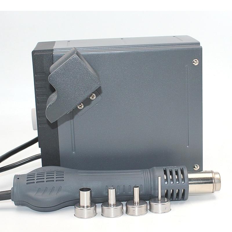 Tools : Original QUICK 2008 ESD digital display heat gun Welding blower gun 220V 120L min 100 to 500 degree