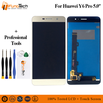 5.0'' For Huawei Y6 Pro LCD Touch Screen For Huawei Y6 Pro Display Digitizer Replacement Parts TIT-U02 TIT-AL00 TIT-L01 image