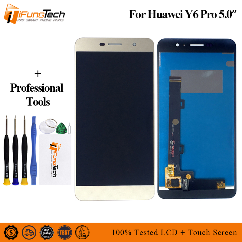 5.0'' For <font><b>Huawei</b></font> <font><b>Y6</b></font> <font><b>Pro</b></font> <font><b>LCD</b></font> Touch Screen For <font><b>Huawei</b></font> <font><b>Y6</b></font> <font><b>Pro</b></font> Display Digitizer Replacement Parts <font><b>TIT</b></font>-U02 <font><b>TIT</b></font>-<font><b>AL00</b></font> <font><b>TIT</b></font>-L01 image