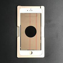 10 pcs/lot A++++  Front Panel Glass Lens with Bezel Frame+OCA+Polarizer Film Assembled For iPhone 6 6S 7 Plus LCD Screen