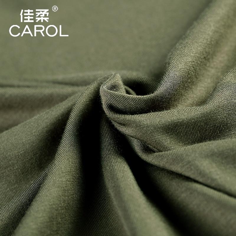 Image 4 - Bamboo fibre male short sleeve T shirt 2020 summer plus size t  shirt for men o neck loose old age tops fashion black whitet shirts for  menfashion t shirtt shirt