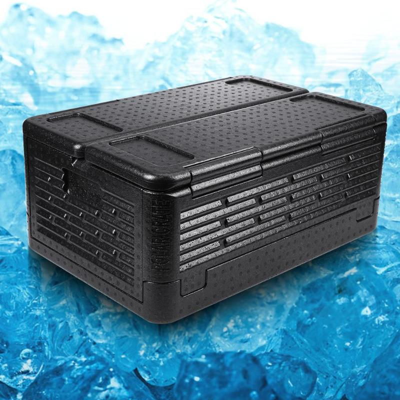 60ml Cans Folding Refrigerator Outdoor Camping Incubator Heat Insulation Portable Waterproof Cooler Container 60ml