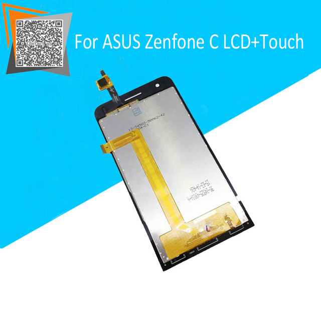"100% Original 4.5"" For ASUS Zenfone C ZC451CG Z007 LCD Display + Touch Screen Assembly Replacement Parts with LOGO"