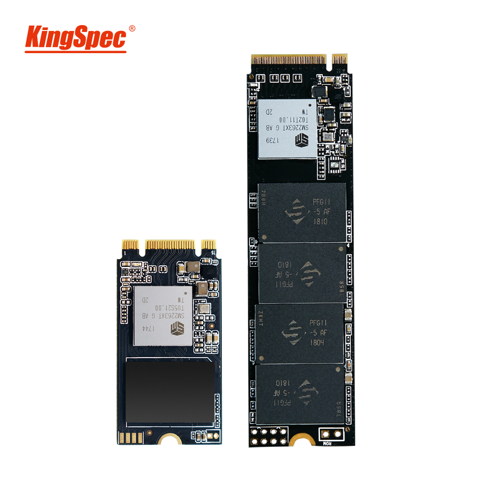 KingSpec NVMe SSD 250GB m2 ssd 500GB ssd m2 pcie 1 to m.2 disque SSD interne pour Lenovo Y520/Hp/Acer Thinkpad T480, T470P