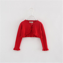 Kids Girls Cardigan Sweater Outerwear For 0-6 Y