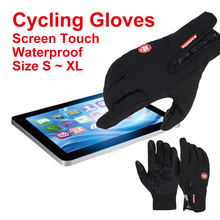 Hands warmer riding thermal windproof touch motorcycle bicycle warm bike cycling