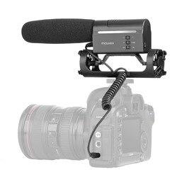 Mouriv VMC355 Photography Interview Shotgun MIC Microphone for Nikon Canon DSLR Camera for Vloggers/Videomaker Video Camcorder