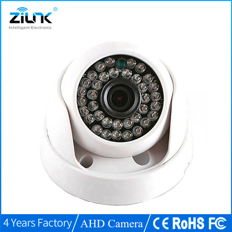 ZILNK Security Analog HD 960P AHD Camera Night Vision Indoor IR 20m 3.6mm Lens IR-Cut Filter Dome CCTV Camera 4pcs lot 960p indoor night version ir dome camera 4 in1 camera 3 6mm lens p2p onvif abs plastic housing