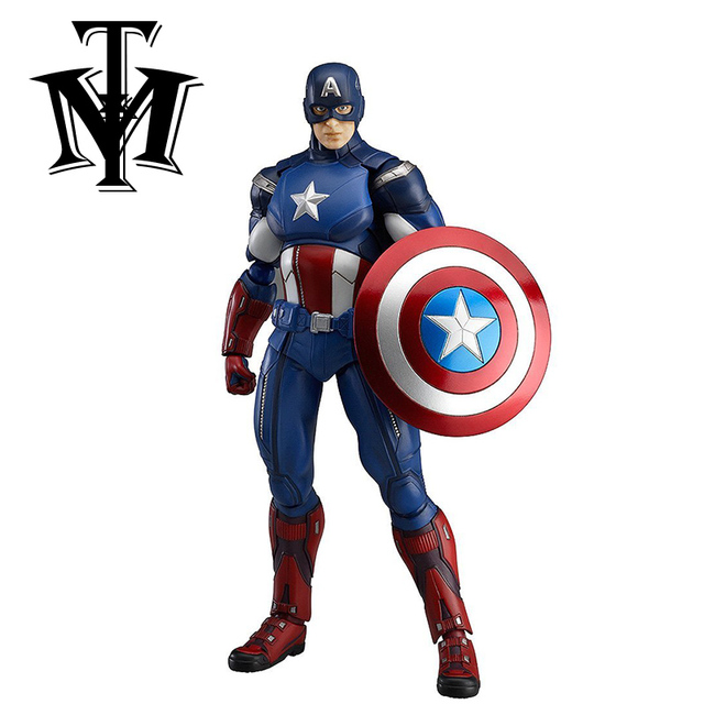 "Avengers Captain America movie movable PVC kids cartoon boy 6"" Action Figure Model toy child"