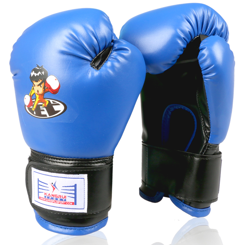 RED FITNESS BOXING GLOVES