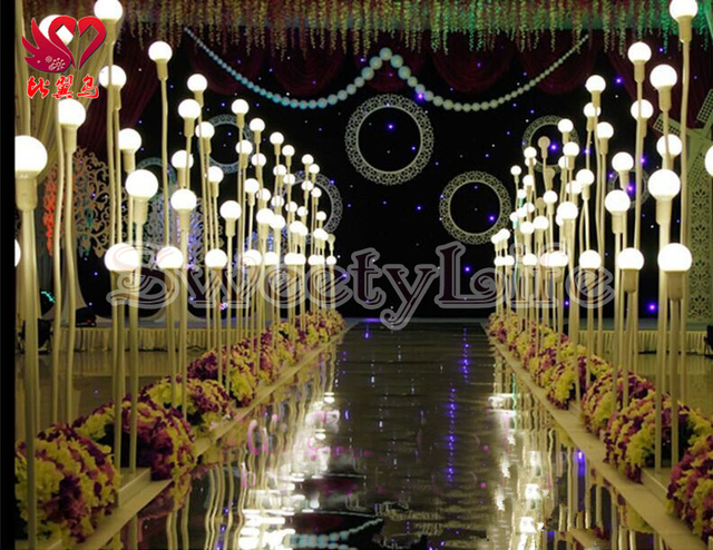 Wedding led lights road leads aisle stand wedding decoration wedding led lights road leads aisle stand wedding decoration 10setslot junglespirit Choice Image