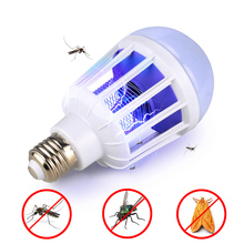AC175~220V LED Mosquito Killer Bulb E27/B22 For Home Lighting Bug Zapper Trap Lamp Insect Anti Repeller Light