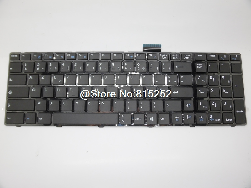 Laptop Keyboard For MSI CR70 0M-004FR 0M-007FR 0M-009FR 0M-063FR 0M-073FR 0M-097FR 0M-227FR 0M-237XFR 0M-245XFR 0M-246FR audioquest columbia 1 0m