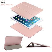 Batianda Ultra Thin Magnetic Smart Case Cover Auto Wake Sleep Function Translucent Back Case For Apple
